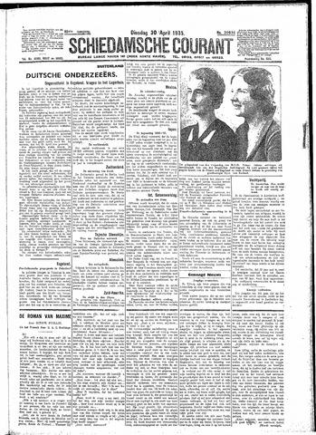 Schiedamsche Courant 1935-04-30