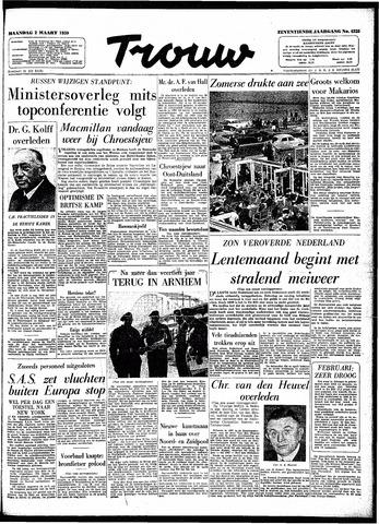 Trouw / De Rotterdammer 1959-03-02