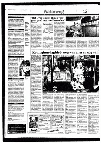 Rotterdamsch Nieuwsblad / Schiedamsche Courant / Rotterdams Dagblad / Waterweg / Algemeen Dagblad 1993-04-29