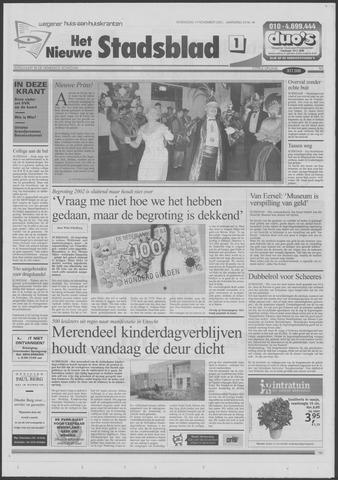 Het Nieuwe Stadsblad 2001-11-14