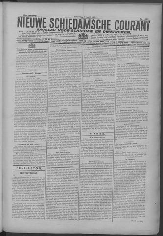 Nieuwe Schiedamsche Courant 1925-04-09