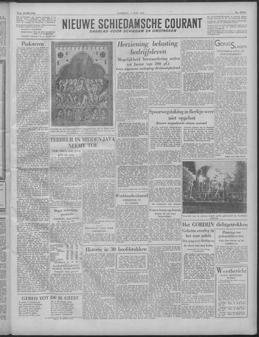 Nieuwe Schiedamsche Courant 1949-06-04