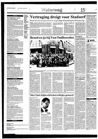 Rotterdamsch Nieuwsblad / Schiedamsche Courant / Rotterdams Dagblad / Waterweg / Algemeen Dagblad 1993-11-16