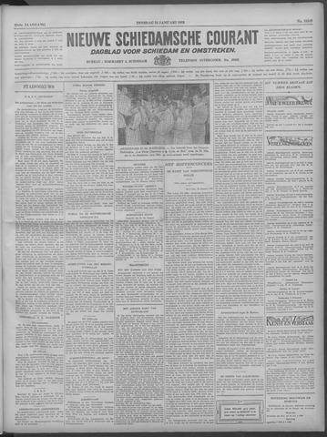 Nieuwe Schiedamsche Courant 1933-01-24