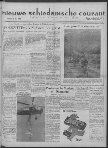 Nieuwe Schiedamsche Courant 1958-07-18