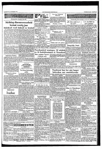 Rotterdamsch Nieuwsblad / Schiedamsche Courant / Rotterdams Dagblad / Waterweg / Algemeen Dagblad 1953-10-24