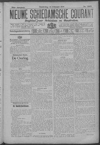 Nieuwe Schiedamsche Courant 1918-02-28