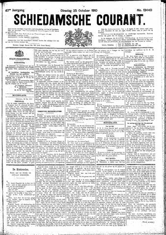 Schiedamsche Courant 1910-10-25