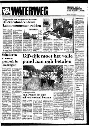 Rotterdamsch Nieuwsblad / Schiedamsche Courant / Rotterdams Dagblad / Waterweg / Algemeen Dagblad 1987-08-07