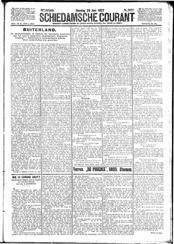 Schiedamsche Courant 1927-06-28