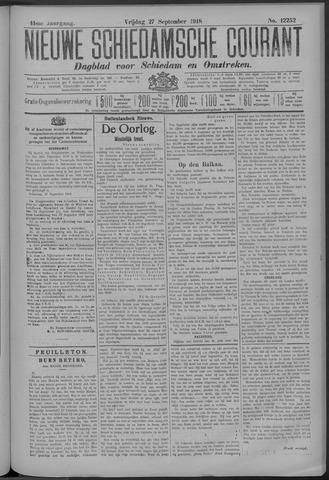 Nieuwe Schiedamsche Courant 1918-09-27