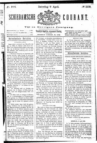 Schiedamsche Courant 1881-04-09