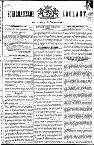 Schiedamsche Courant 1851-11-08