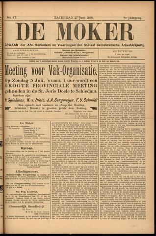 De Moker 1908-06-27