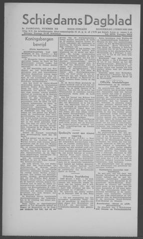 Schiedamsch Dagblad 1945-02-01