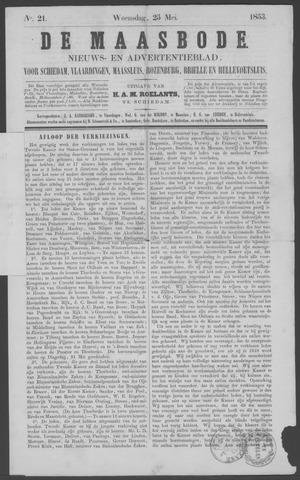De Maasbode 1853-05-25