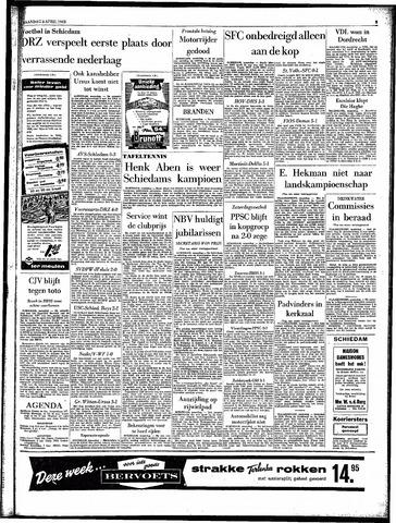 Rotterdamsch Parool / De Schiedammer 1963-04-08