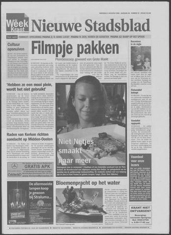 Het Nieuwe Stadsblad 2006-08-09