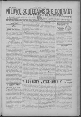 Nieuwe Schiedamsche Courant 1925-02-21