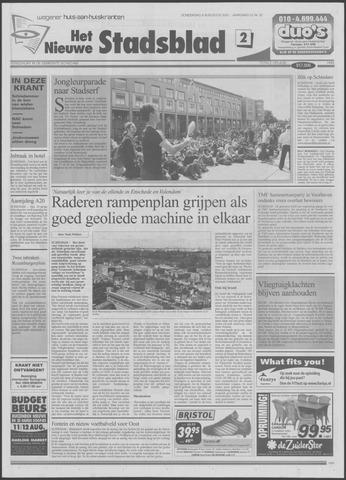 Het Nieuwe Stadsblad 2001-08-09