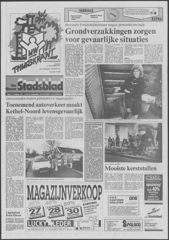 Het Nieuwe Stadsblad 1991-12-27