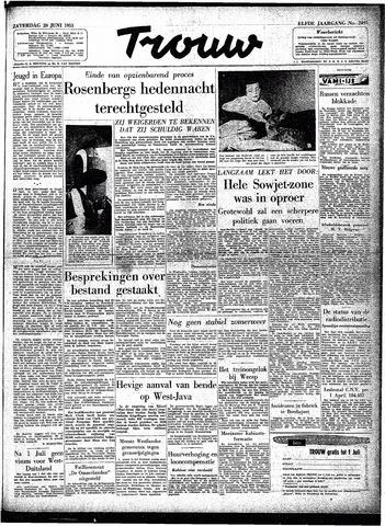 Trouw / De Rotterdammer 1953-06-20