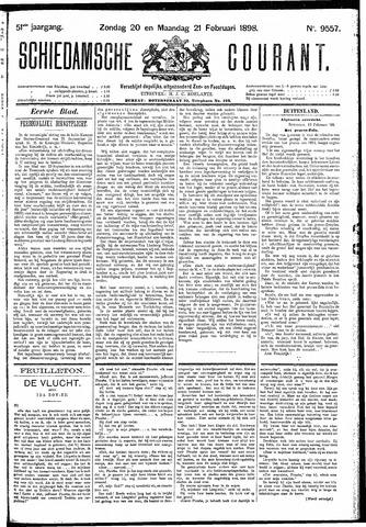 Schiedamsche Courant 1898-02-21