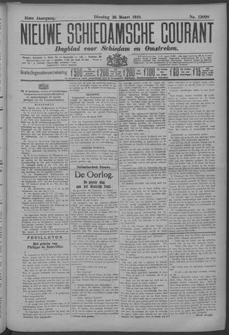 Nieuwe Schiedamsche Courant 1918-03-26