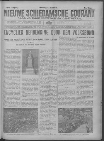 Nieuwe Schiedamsche Courant 1929-05-27