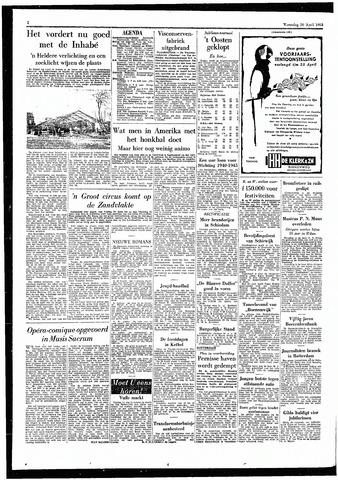 Rotterdamsch Parool / De Schiedammer 1955-04-20
