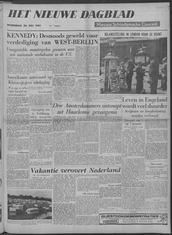 Nieuwe Schiedamsche Courant 1961-07-26