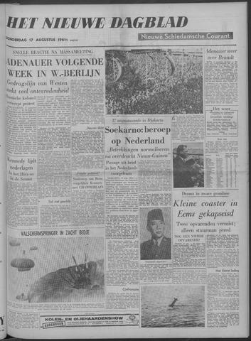 Nieuwe Schiedamsche Courant 1961-08-17
