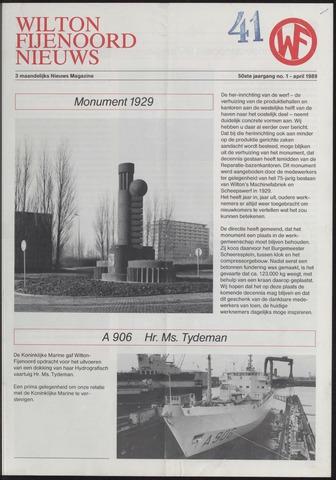 Wilton Fijenoord Nieuws 1989