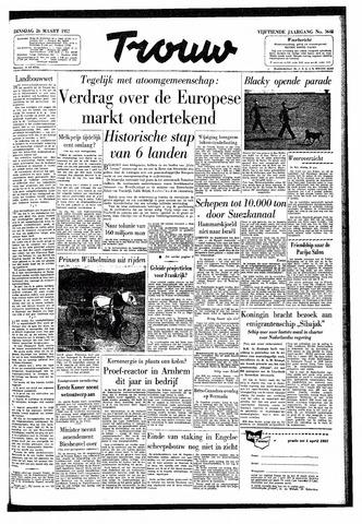 Trouw / De Rotterdammer 1957-03-26