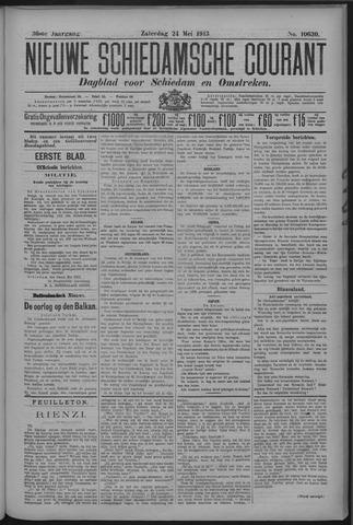 Nieuwe Schiedamsche Courant 1913-05-24