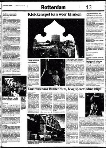 Rotterdamsch Nieuwsblad / Schiedamsche Courant / Rotterdams Dagblad / Waterweg / Algemeen Dagblad 1991-08-31