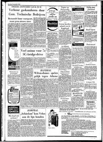 Rotterdamsch Parool / De Schiedammer 1961-09-19