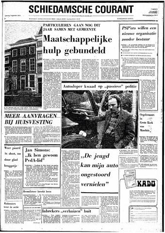Rotterdamsch Nieuwsblad / Schiedamsche Courant / Rotterdams Dagblad / Waterweg / Algemeen Dagblad 1974-09-07