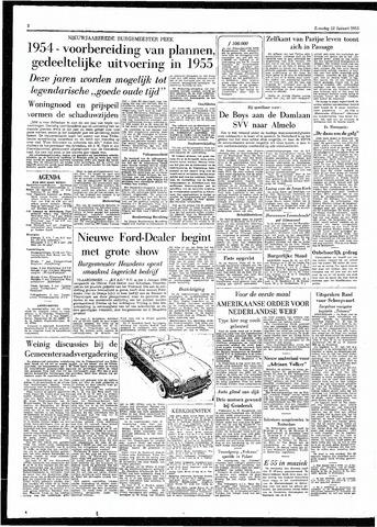 Rotterdamsch Parool / De Schiedammer 1955-01-22