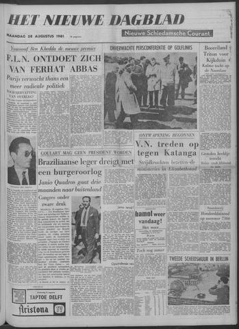 Nieuwe Schiedamsche Courant 1961-08-28