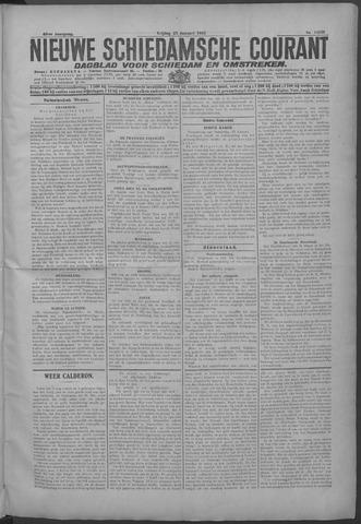 Nieuwe Schiedamsche Courant 1925-01-23