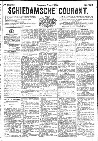 Schiedamsche Courant 1910-04-07