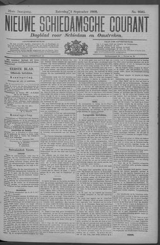 Nieuwe Schiedamsche Courant 1909-09-04