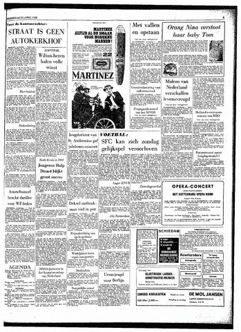 Rotterdamsch Parool / De Schiedammer 1963-04-25