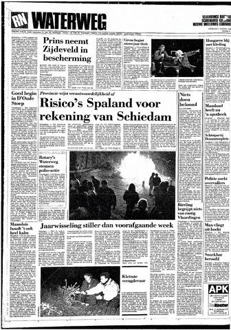 Rotterdamsch Nieuwsblad / Schiedamsche Courant / Rotterdams Dagblad / Waterweg / Algemeen Dagblad 1989