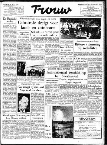 Trouw / De Rotterdammer 1956-07-31