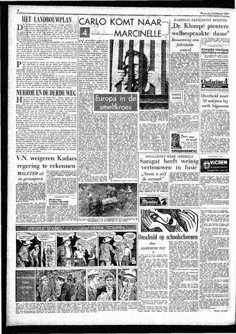Rotterdamsch Parool / De Schiedammer 1957-02-13