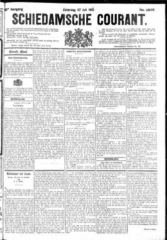 Schiedamsche Courant 1912-07-27