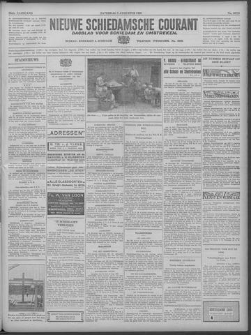 Nieuwe Schiedamsche Courant 1933-08-05