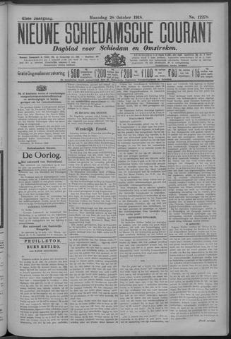 Nieuwe Schiedamsche Courant 1918-10-28